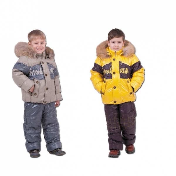 Зимний костюм ребенку своими руками 61