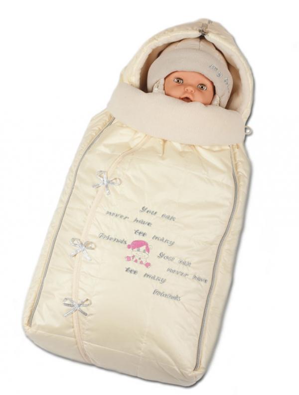 Конверт для новорожденного зимний зс