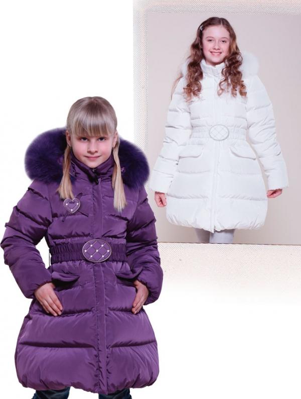 Детское зимнее пальто для девочки (З-283