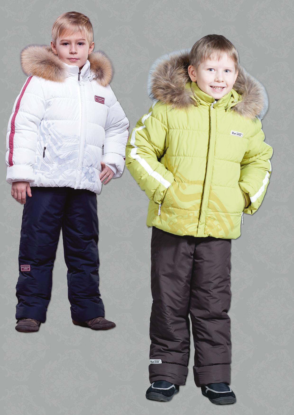 Детский зимний костюм для мальчика З-348 ЗС-349 3d551a75e43